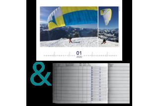 Bundle: Flugbuch & Kalender