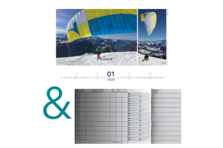 Bundle: Logbook & Calendar